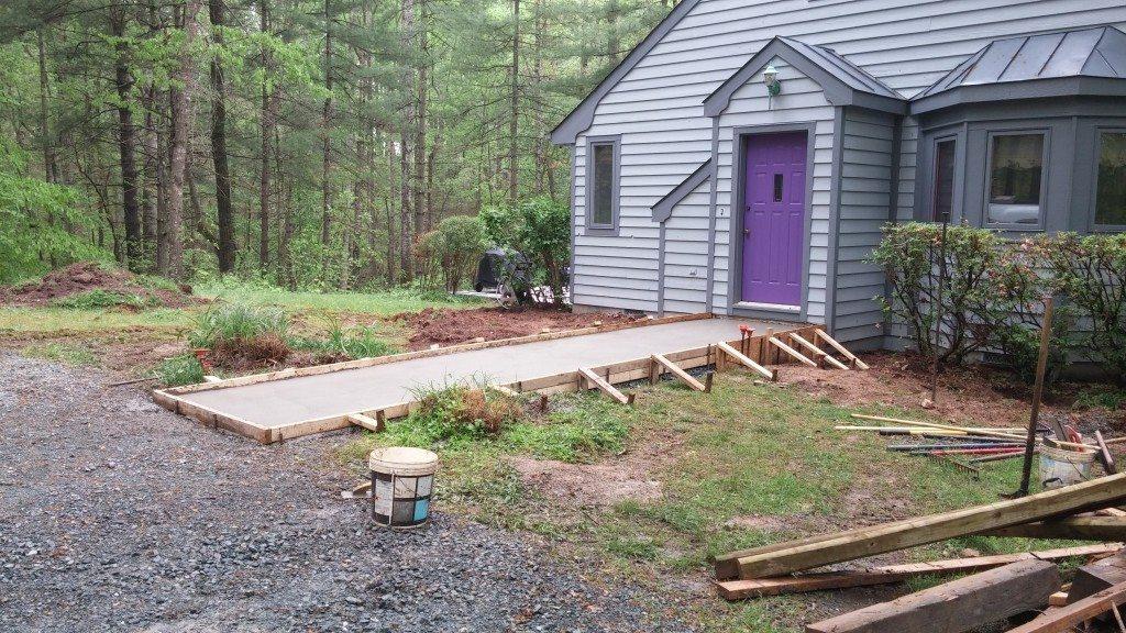 Residential Sidewalk Repair (after)