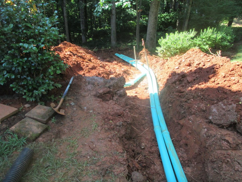 Experts pipe work will pinpoint where water is coming from and direct it to where it needs to go.