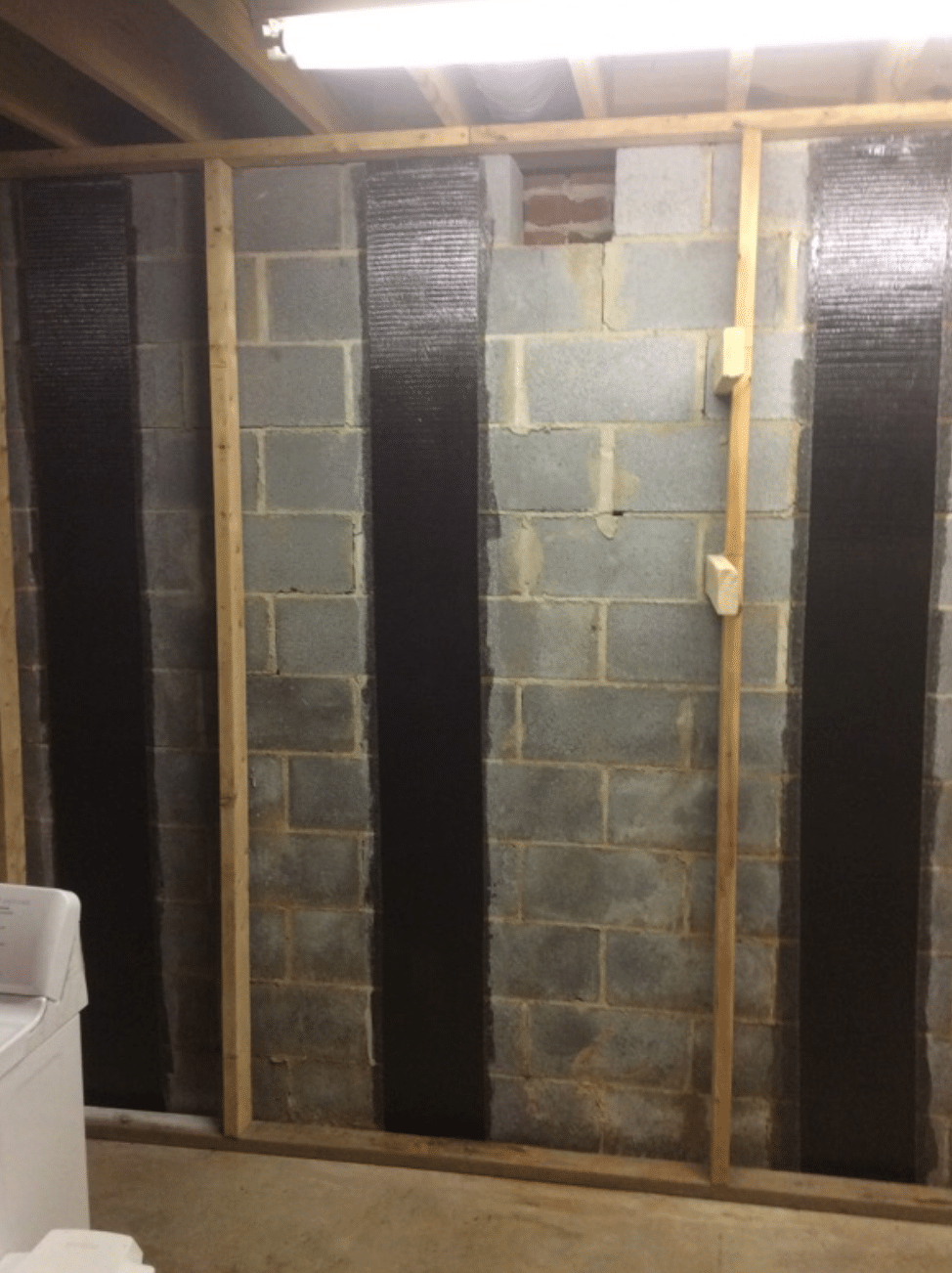 Wall Repair with Carbon Fiber Strips-2